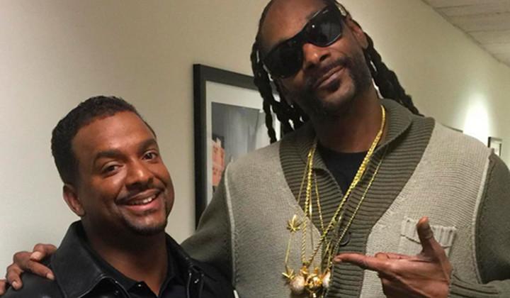 """Alfonso Ribeiro enseña a Snoop Dogg su famoso """"Carlton Dance"""""""