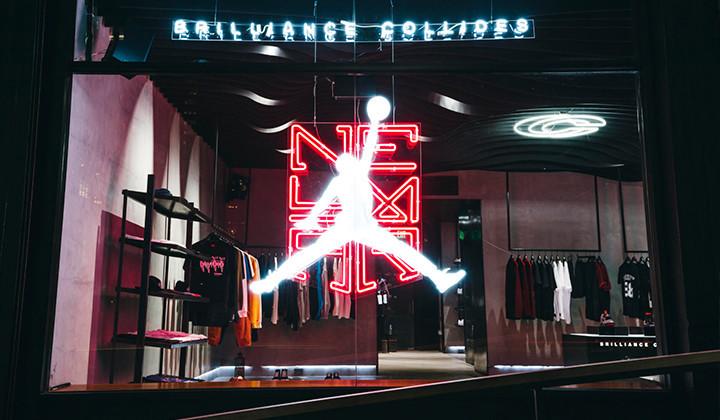 Chequea la instalación que ha preparado Concepts para la colección Jordan X Neymar Jr