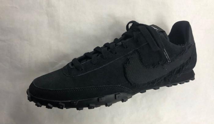 Primeras imágenes de las nuevas Comme Des Garcons x Nike Waffle Triple Black