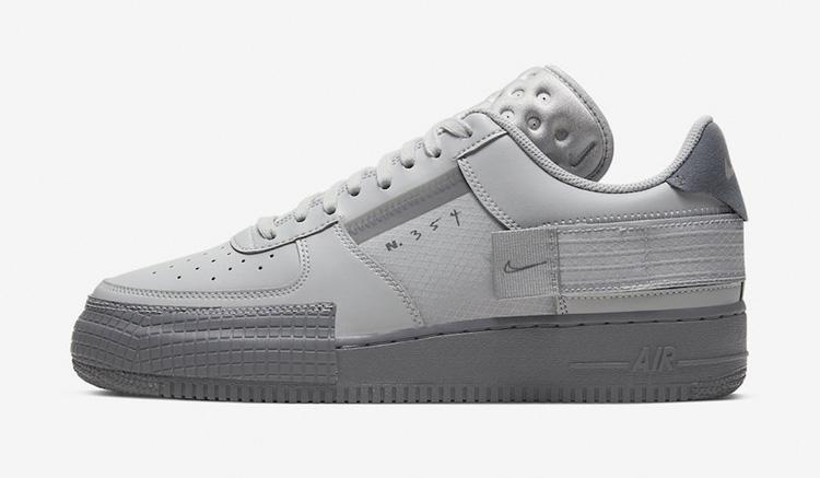 Nike Air Force 1 Type Grey Fog CT2584-001