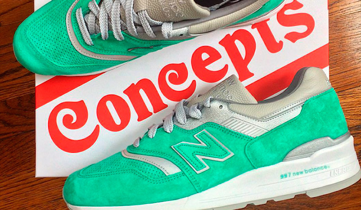"""Concepts x New Balance """"City Rival"""" Pack"""