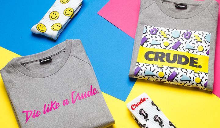 Crude presenta The 90´s Pack