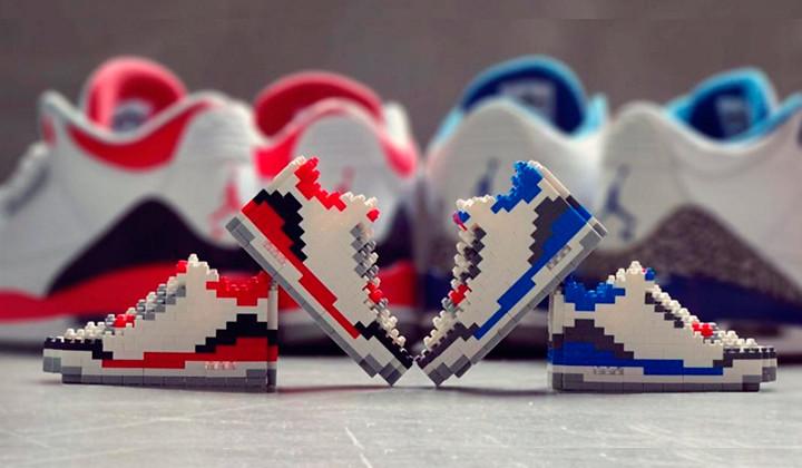 Conoce a Montbloc Toy y construye tus sneakers favoritas con piezas de Bloques