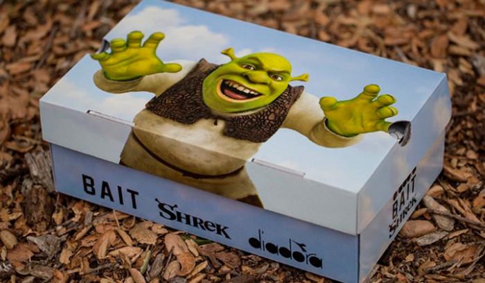 Diadora x BAIT x Dreamworks N9000 Shrek