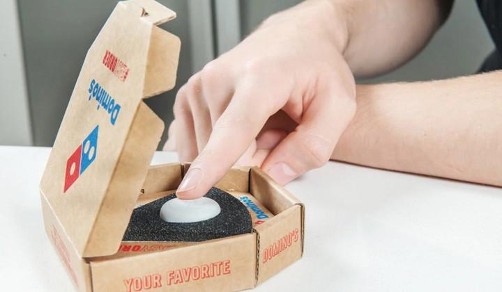 Tu pizza favorita a un botón de distancia