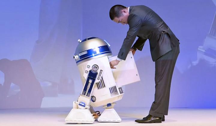 La nevera R2-D2 de Star Wars