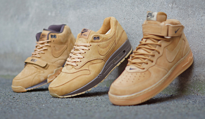 "El color ""Wheat"" en todas sus versiones para tus sneakers"