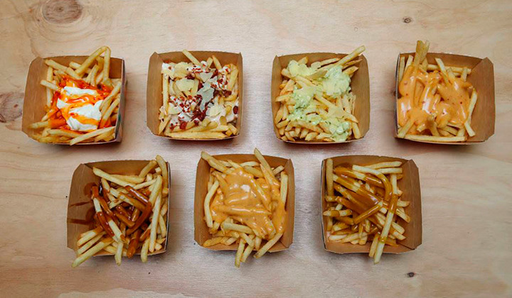 En este McDonald´s no hay hamburguesas, solo patatas fritas