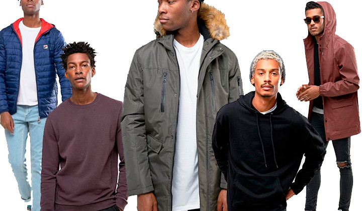 Hasta el 50% de descuento en ropa de abrigo en Asos
