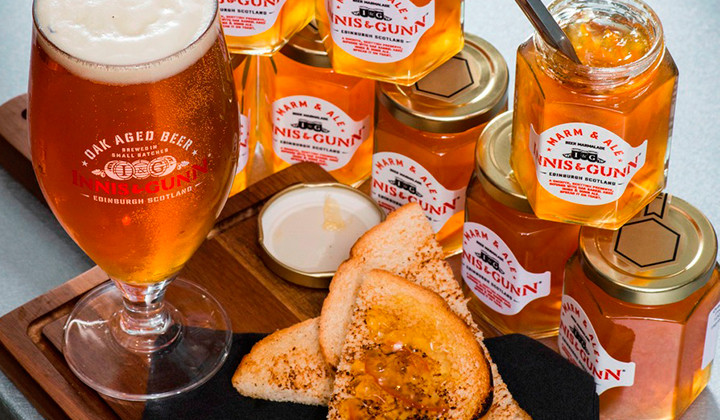 Innis & Gunn fabrica la primera mermelada de Cerveza