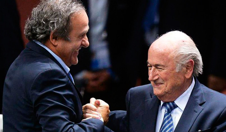 Joseph Blatter y Michel Platini a la calle!