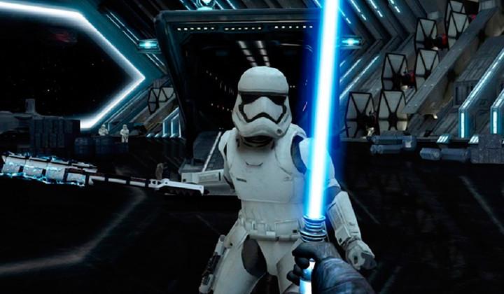 La espada láser de Star Wars en tu móvil