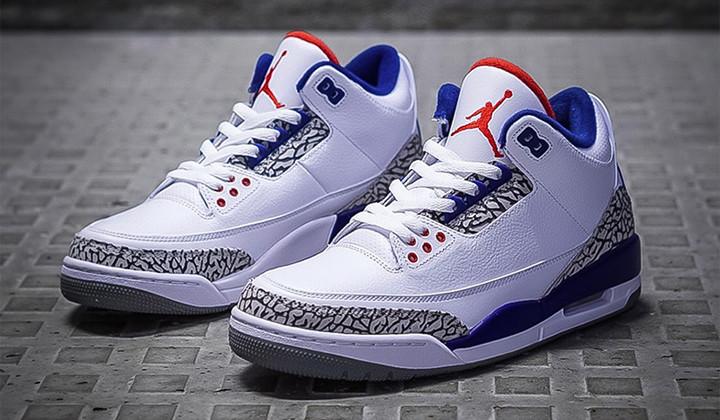 """Las Air Jordan 3 OG """"True Blue"""" vuelven para el Black Friday."""