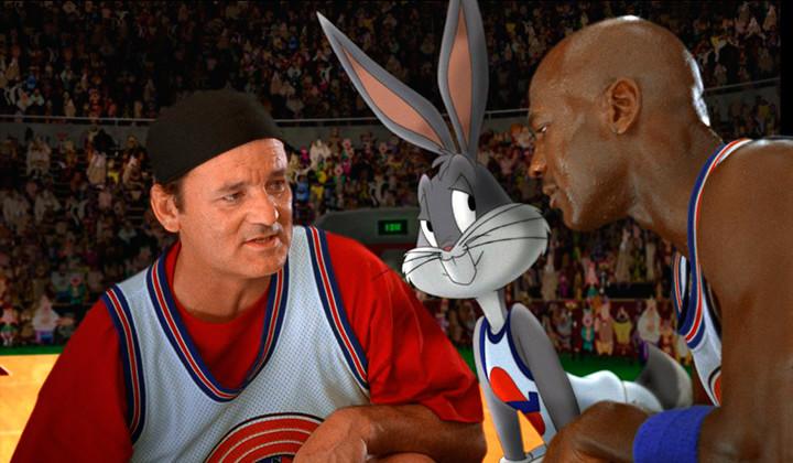 Lebron James le roba el papel a Michael Jordan en Space Jam 2