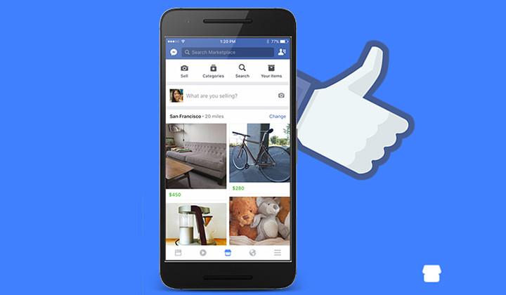 Llega la competencia de Wallapop, Facebook Marketplace