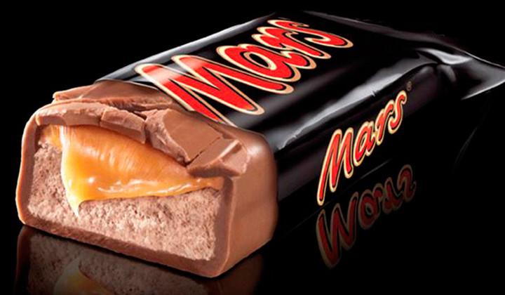 Mars retira del mercado en 55 países varias de sus chocolatinas