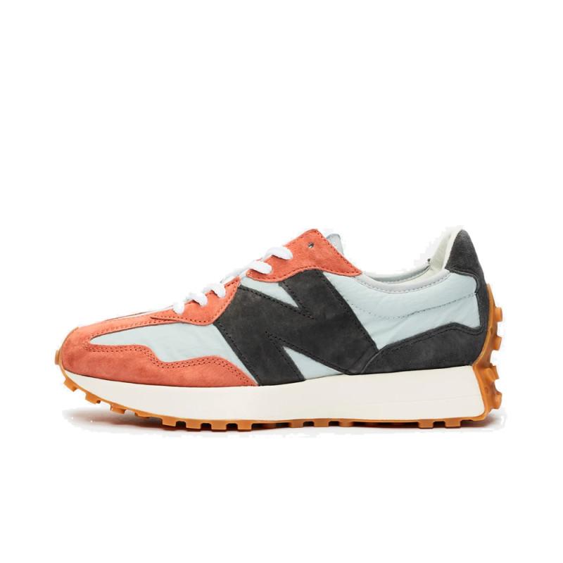 New Balance 327 Orange Black