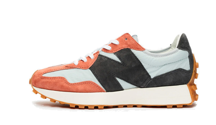 New Balance 327 Orange Black