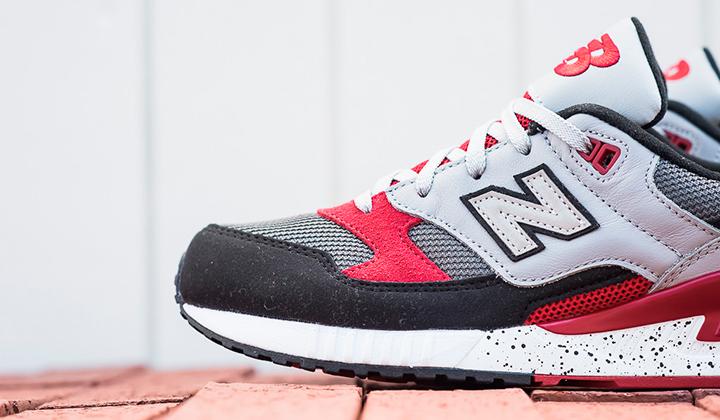 New Balance 530 rojo