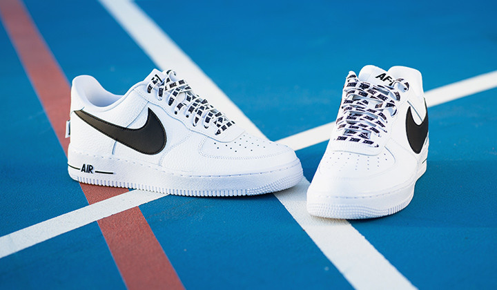 Nike Air Force 1 07 LV8 White NBA Pack onfeet edicon especial
