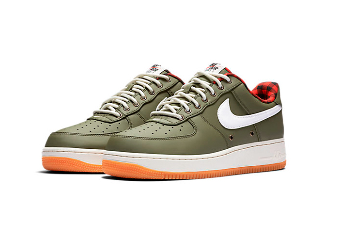 Nike Air Force 1 07 LV8 Gum Tartan Backseries