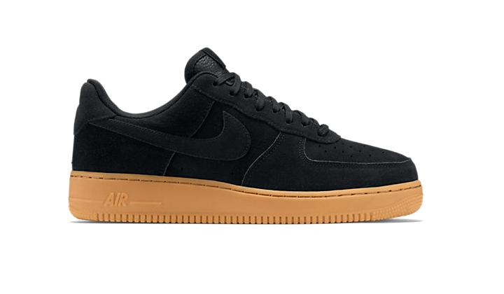 Nike-Air-Force-1-Black-Gum