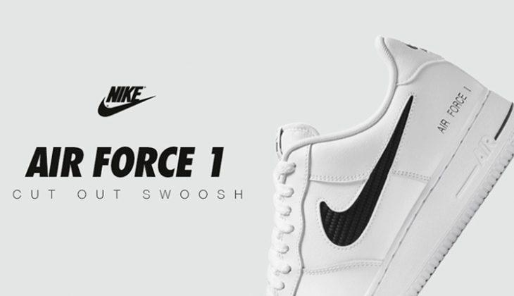 Nike Air Force 1 Cut Out Swoosh cz7377-100