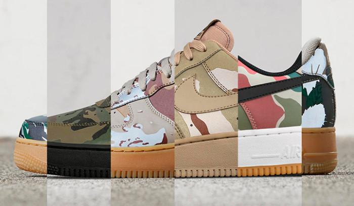 Nike Air Force 1 ID Camo, nuevas opciones de personalización...