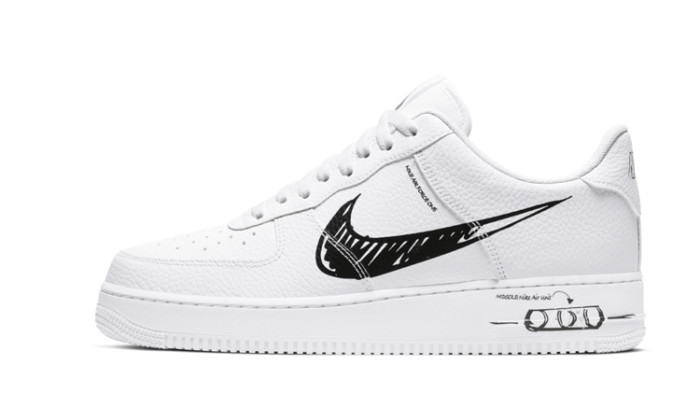 Nike Air Force 1 Sketch White