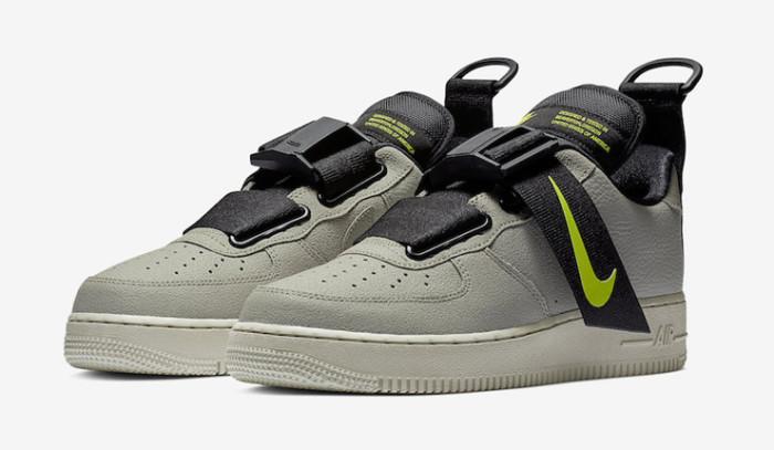 Nuevas Nike Air Force 1 Low Utility Spruce Frog