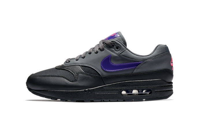 Nike Air Max 1 PRM Black Grey Purple