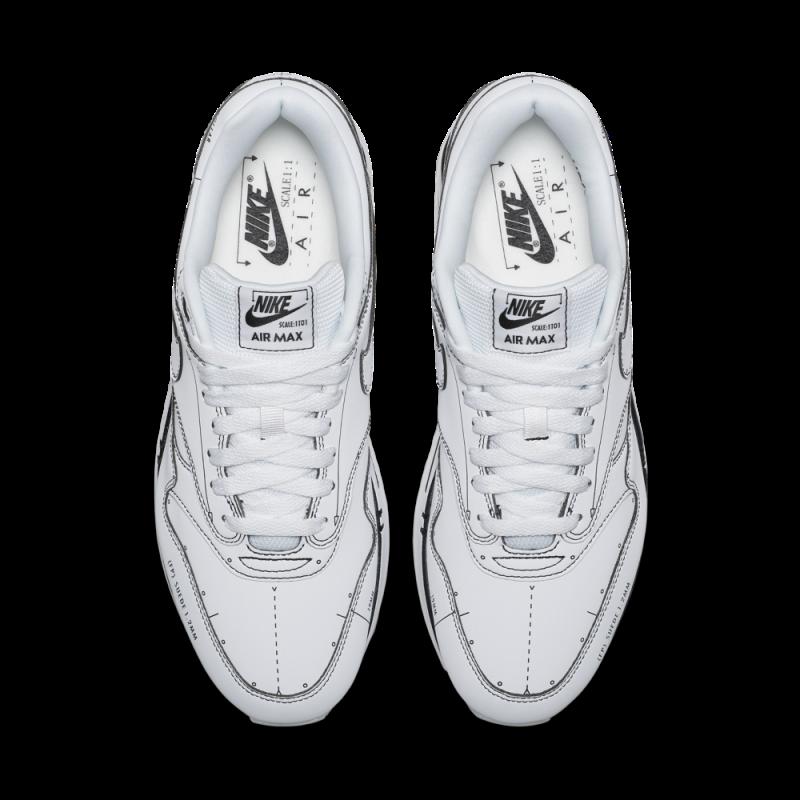 Nike Air Max 1 Sketch to Shelf Tinker Blancas