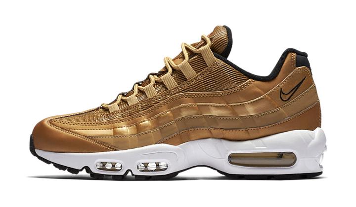 Lanzamientos de sneakers Nike-Air-Max-95-Metallic-Gold