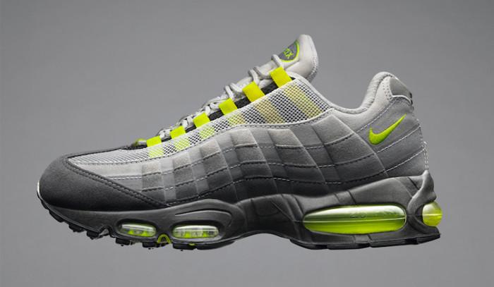 Vuelven las Nike Air Max 95 OG Neon en 2020
