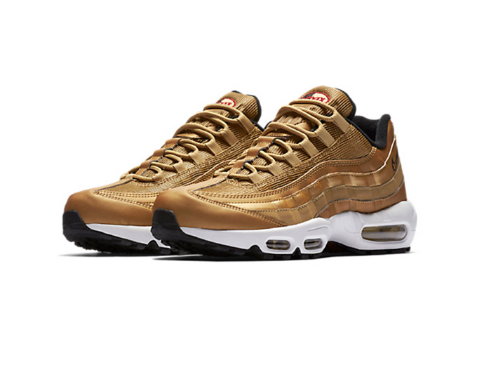 Nike Air Max 95 Premium QS «Metallic Gold»