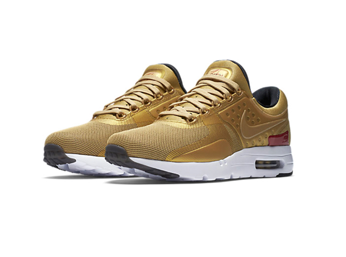 "Nike Air Max Zero ""Metallic Gold"""