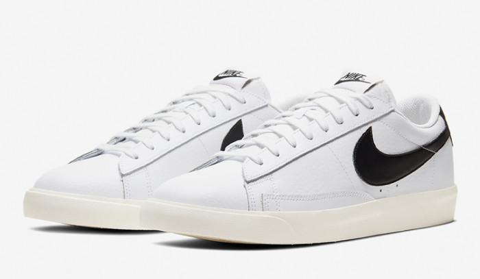 Los clásicos nunca mueren, Nike Blazer Low White Black