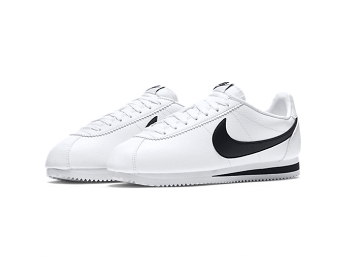 "Nike Classic Cortez Leather ""White/Black"""