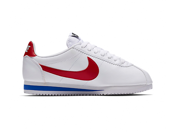 Nike Classic Cortez Leather «White/University Red»