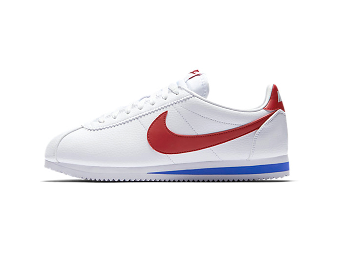 "Nike Classic Cortez Leather ""White/University Red"""
