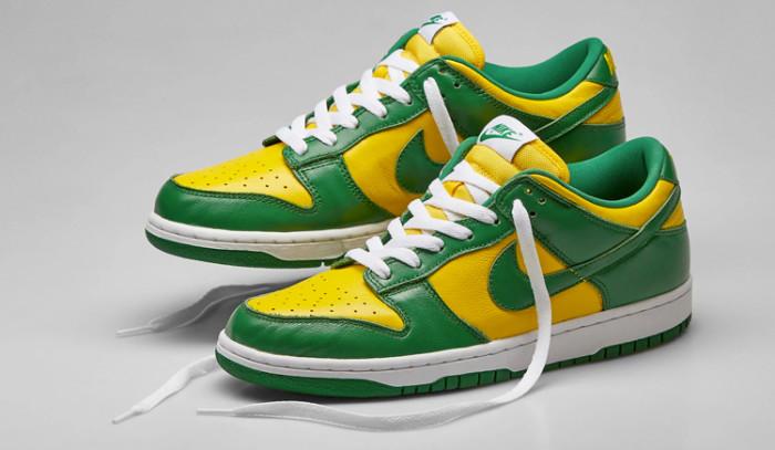 Las Nike Dunk Low Brazil son puro fuego!