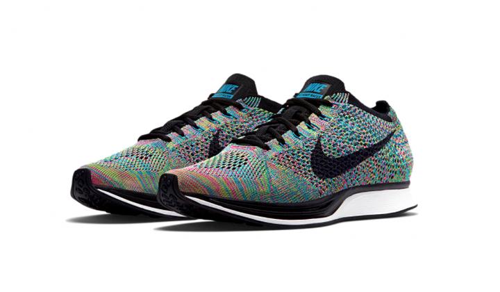 Pilla tus nuevas Nike Flyknit Racer multicolor
