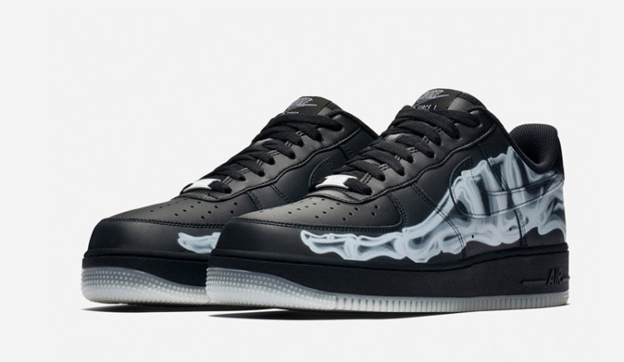 Vuelven las Nike Air Force 1 Skeleton negras!