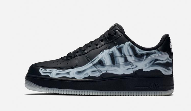 Nike air force 1 black skeleton BQ7541-001