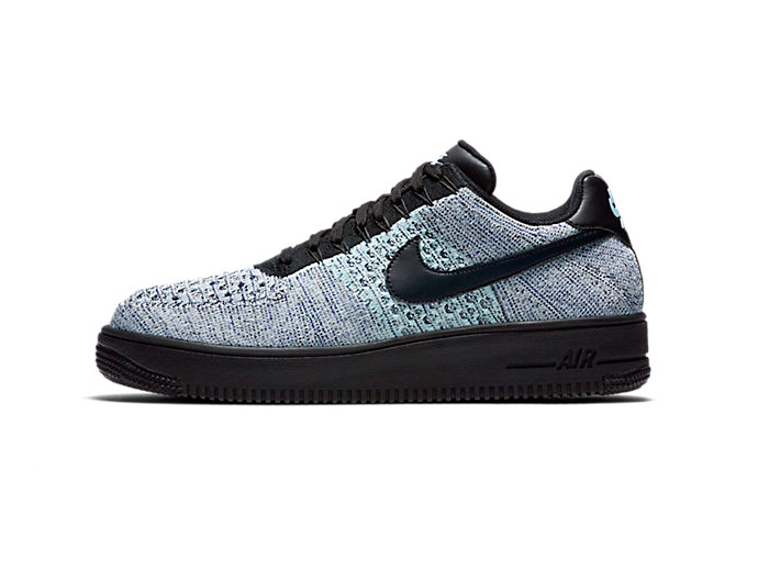 Nike Air Force 1 Flyknit Low «Glacial Blue»