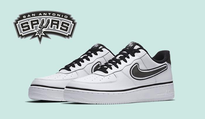 Nuevas Nike Air Force 1 Low San Antonio Spurs