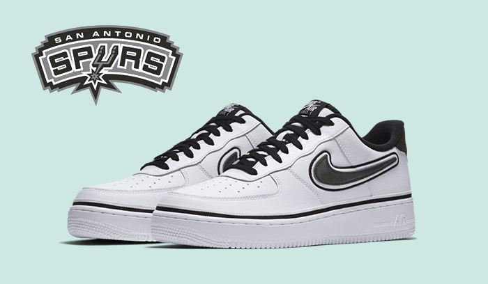 Nuevas Nike Air Force 1 Low San Antonio Spurs
