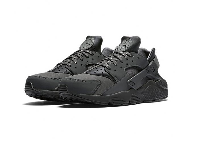 Nike Air Huarache «Anthracite / Black / Blue Gray»