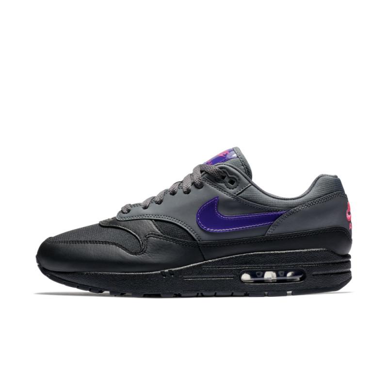 Nike Air Max 1 PRM Black Grey Purple