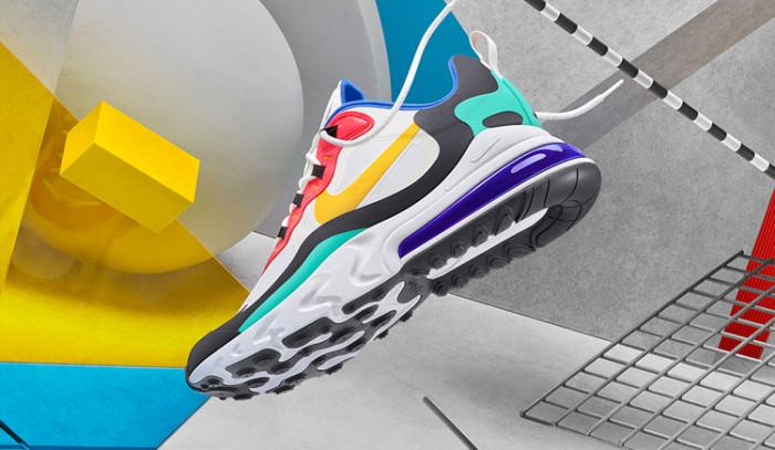 Las Nike Air Max 270 React son puro fuego!